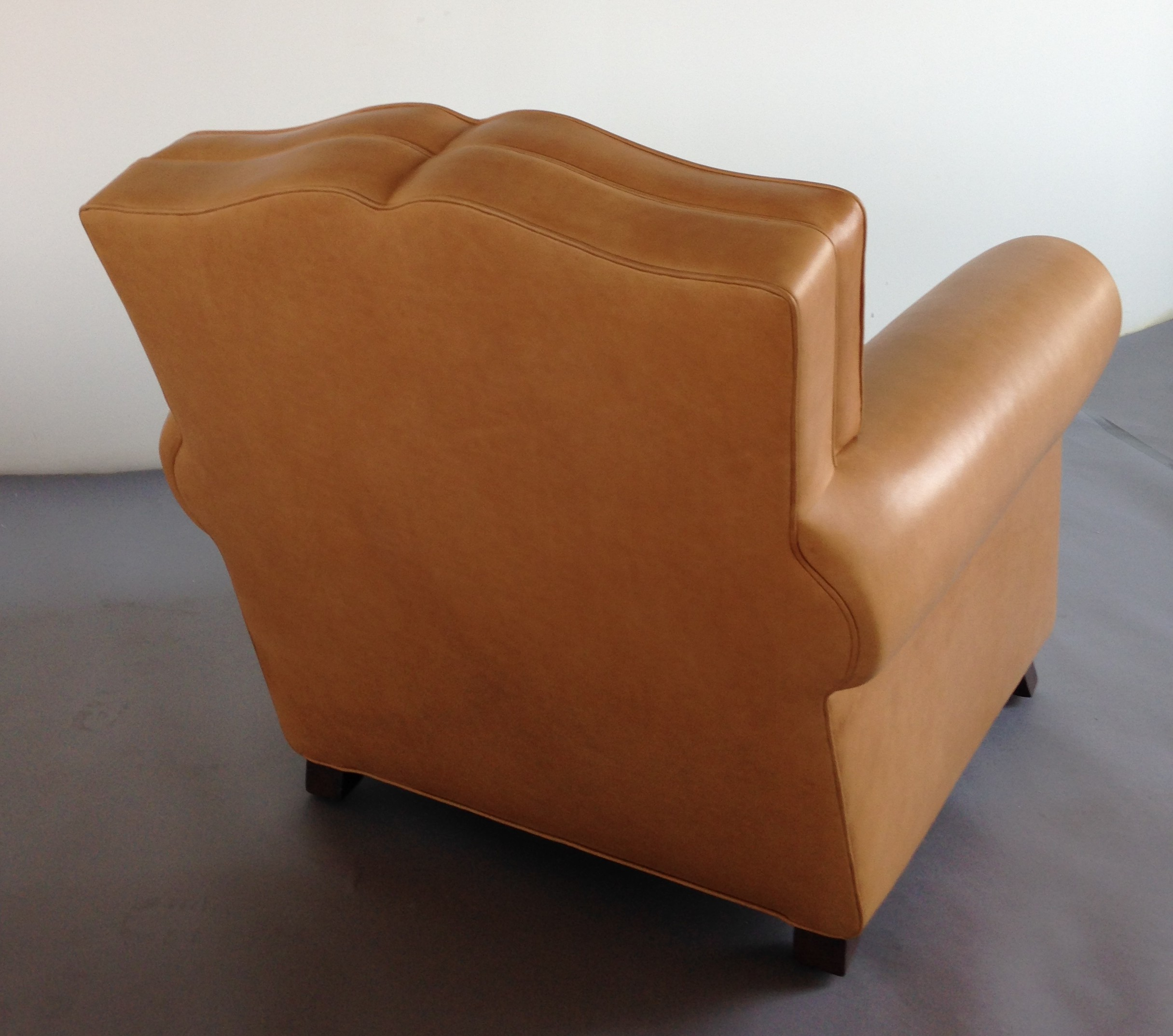(2) French Club Chairs – Back View