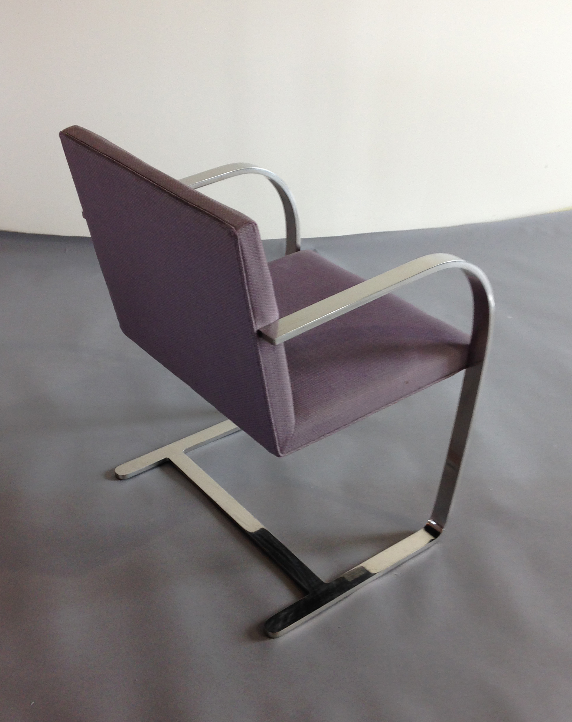 (8) Original Knoll Bruno Chairs – Back View