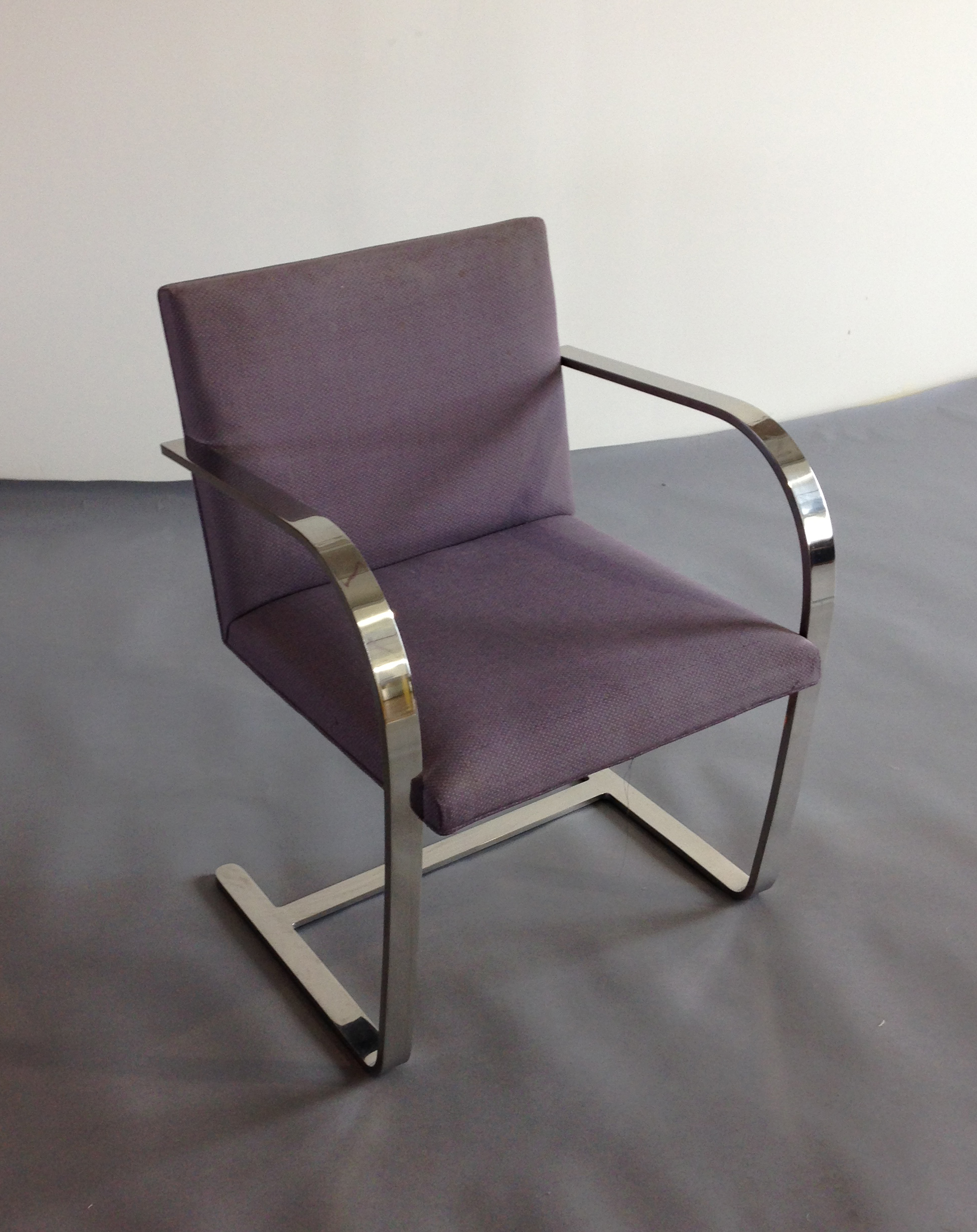 (8) Original Knoll Bruno Chairs – Front View
