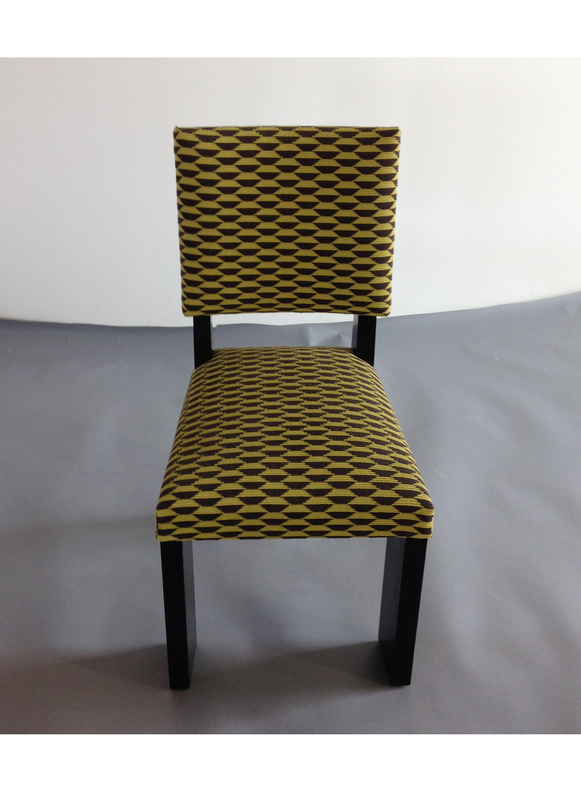 (1) Art Deco Chair – Front View